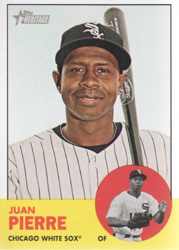 Photo of 2012 Topps Heritage #16 Juan Pierre