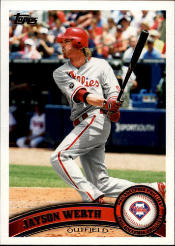 Photo of 2011 Topps #325 Jayson Werth