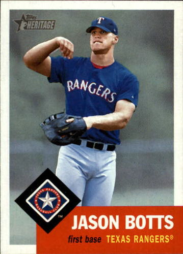 Photo of 2002 Topps Heritage #307 Jason Botts RC