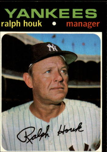 Photo of 1971 Topps #146 Ralph Houk MG