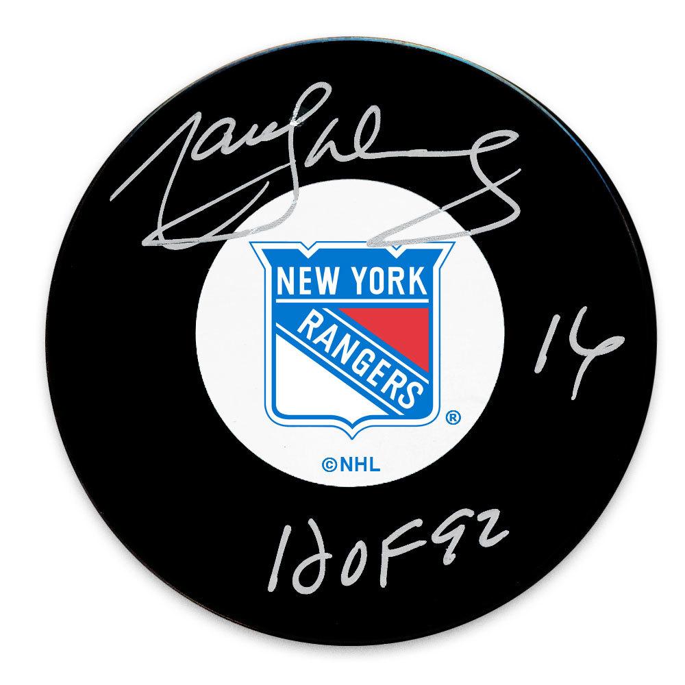 Marcel Dionne New York Rangers HOF Autographed Puck