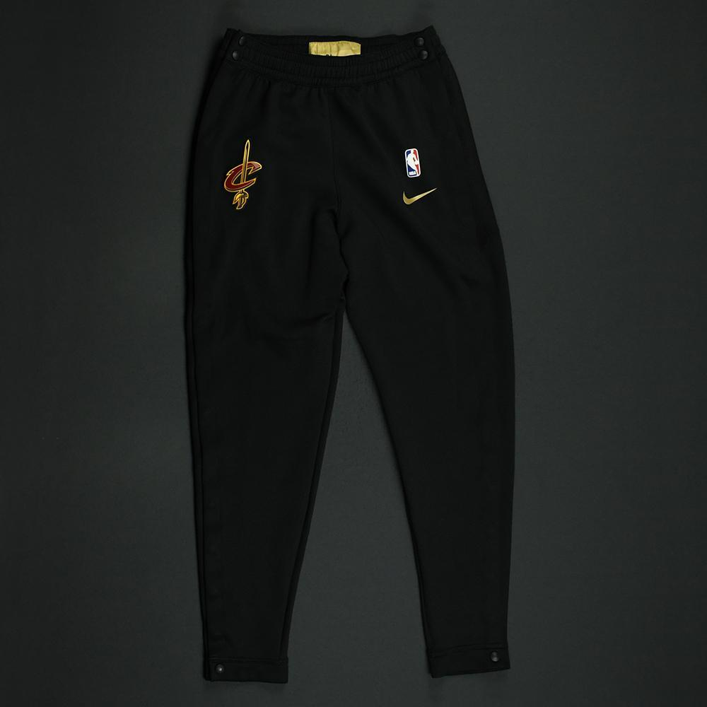 Tristan Thompson - Cleveland Cavaliers - 2018 NBA Finals - Game-Issued Warmup Pants