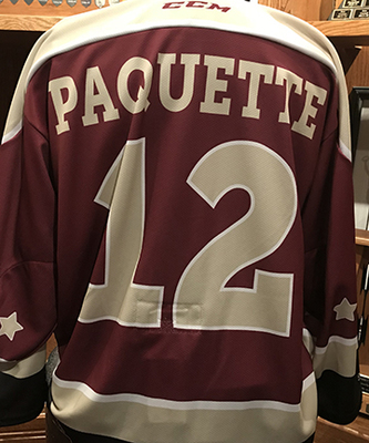 Chris Paquette (#12) - Game-Worn Petes Alumni Homecoming Jersey