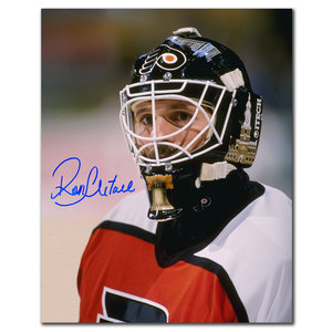 Ron Hextall Philadelphia Flyers CLOSE UP Autographed 8x10