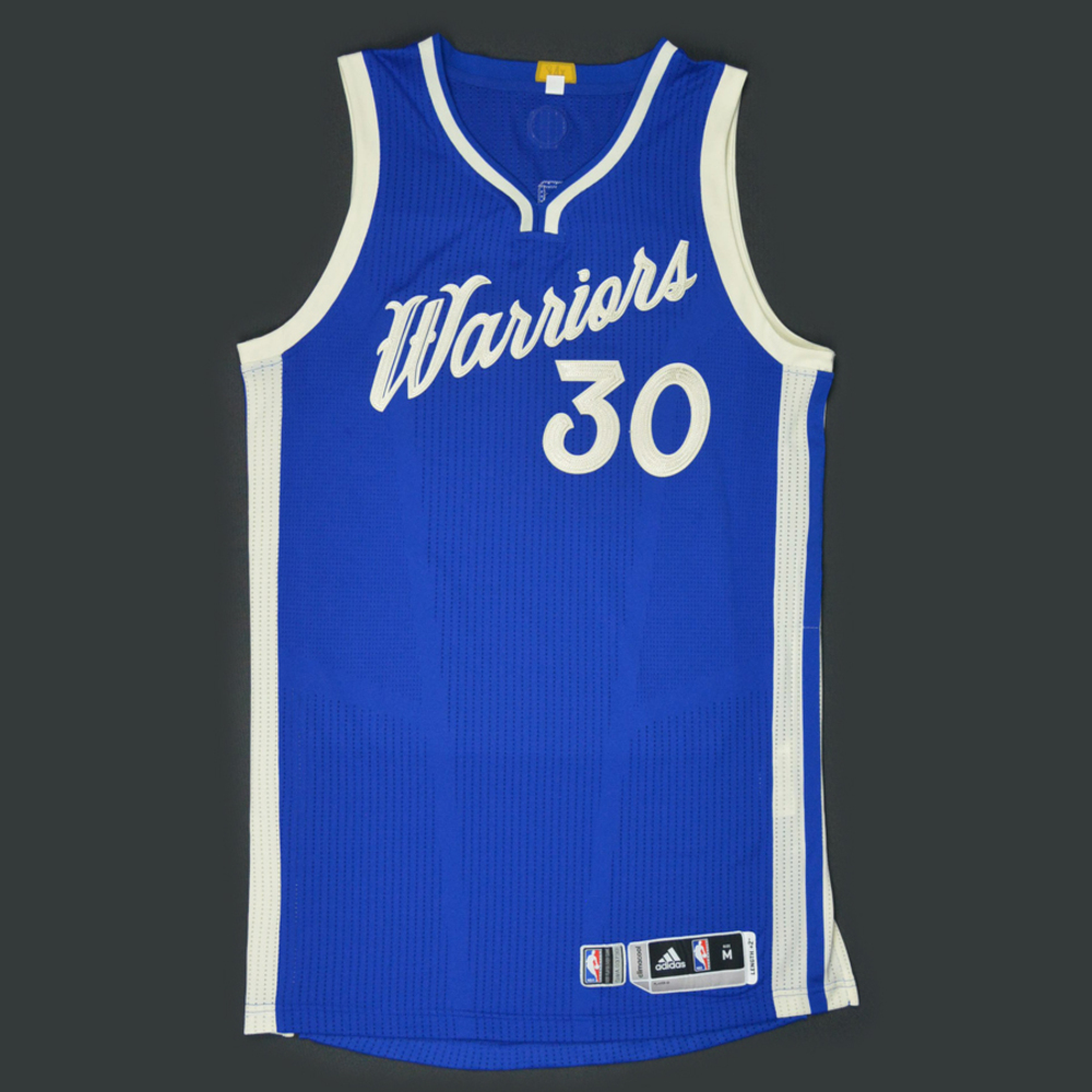 Stephen Curry - Golden State Warriors - Game-Worn Jersey - NBA ...
