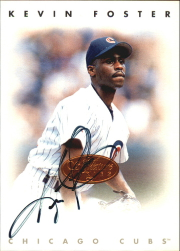 Photo of 1996 Leaf Signature Autographs #70 Kevin Foster