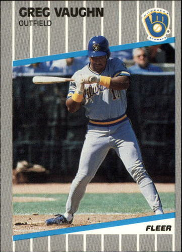 Photo of 1989 Fleer Update #41 Greg Vaughn RC