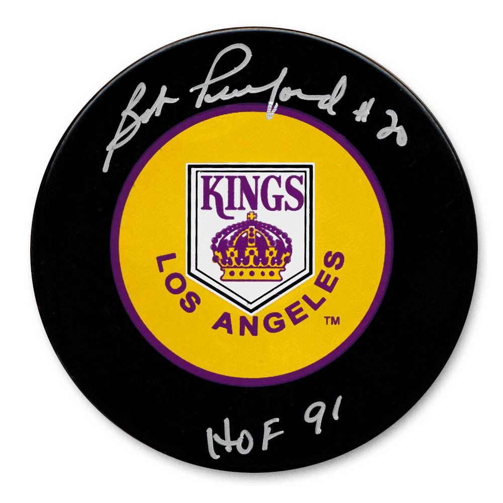 Bob Pulford Los Angeles Kings HOF Autographed Puck