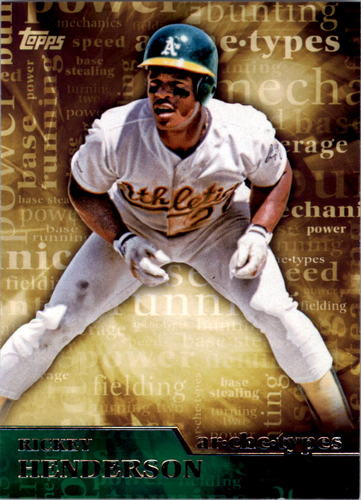Photo of 2015 Topps Archetypes #A1 Rickey Henderson