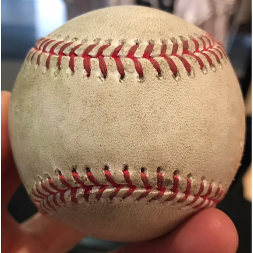 Photo of Aaron Judge Game-Used Baseball, Single