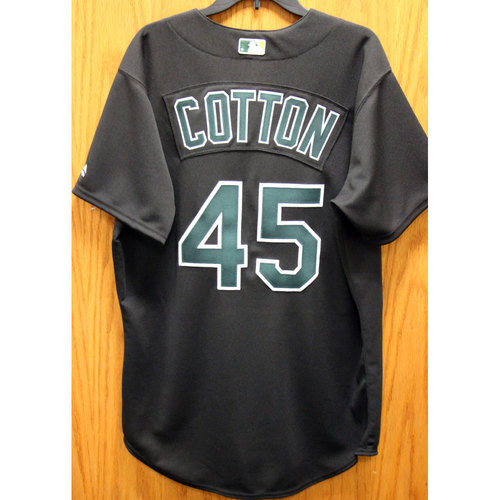 Photo of Jharel Cotton Game-Used 2002 TBTC Jersey