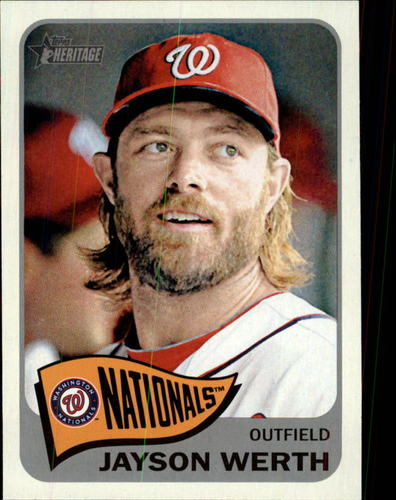 Photo of 2014 Topps Heritage #402 Jayson Werth