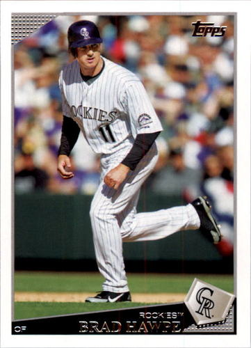 Photo of 2009 Topps #87 Brad Hawpe