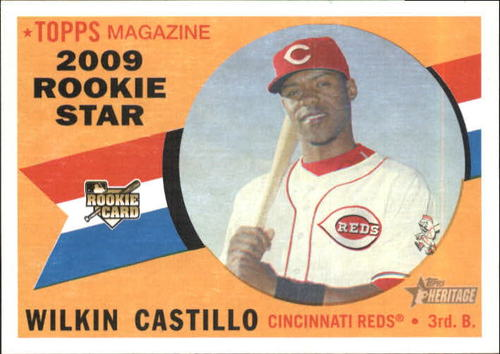 Photo of 2009 Topps Heritage #119 Wilkin Castillo RC