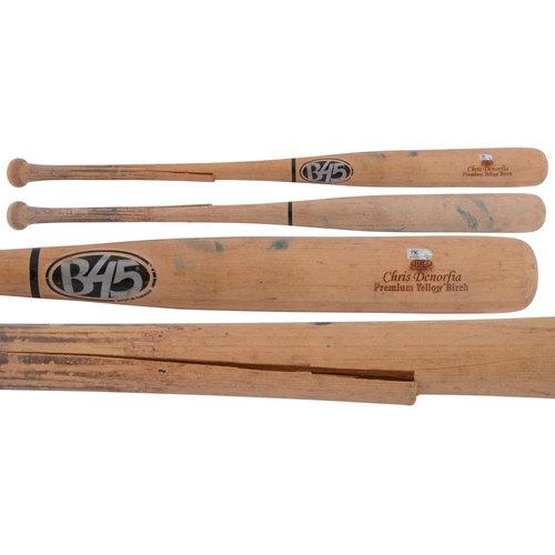 Photo of Chris Denorfia Padres Game-Used Broken Bat
