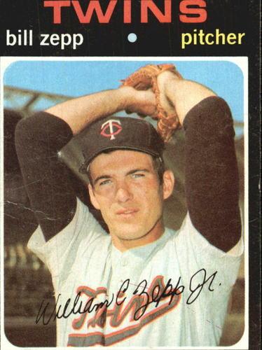 Photo of 1971 Topps #271 Bill Zepp