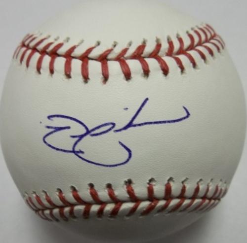 Photo of Nick Swisher Autographed Baseball