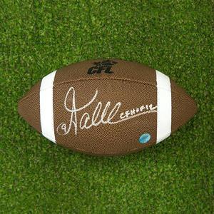 Damon Allen Autographed CFL Wilson Composite Football