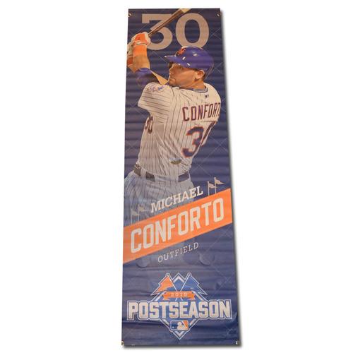 Michael Conforto #30 - Citi Field Banner - 2015 Postseason