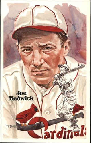 Photo of 1980-02 Perez-Steele Hall of Fame Postcards #110 Joe Medwick -- Set #08689