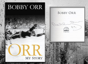 Bobby Orr ORR MY STORY Signed Hardcover Book
