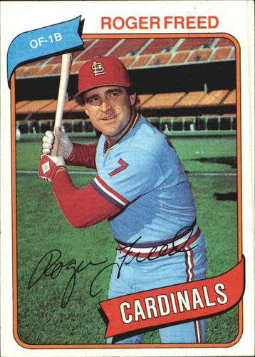 Photo of 1980 Topps #418 Roger Freed DP