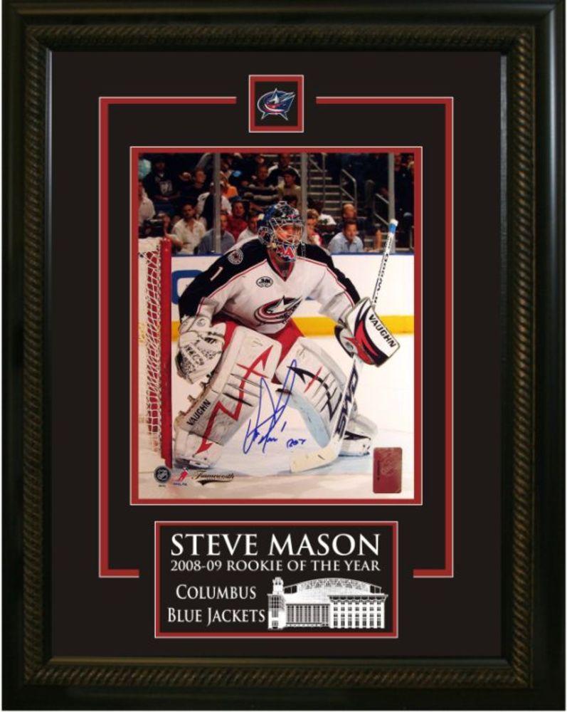 Steve Mason Signed 8