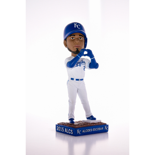 Photo of Royals Charities: Commermorative Postseason Alcides Escobar Bobblehead