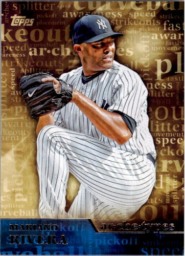 Photo of 2015 Topps Archetypes #A2 Mariano Rivera