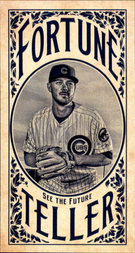 Photo of 2017 Topps Gypsy Queen Fortune Teller Mini #FTKB Kris Bryant