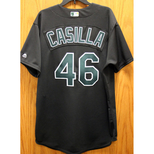 Photo of Santiago Casilla Game-Used 2002 TBTC Jersey