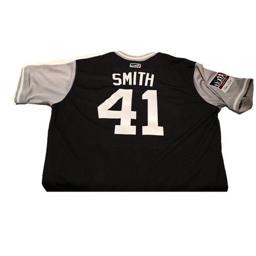 "Photo of Caleb ""Smith"" Smith New York Yankees Game-Used Players Weekend Jersey"