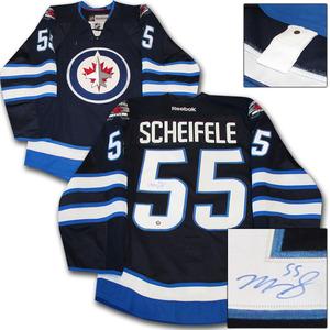 Mark Scheifele Autographed Winnipeg Jets Authentic Pro Jersey