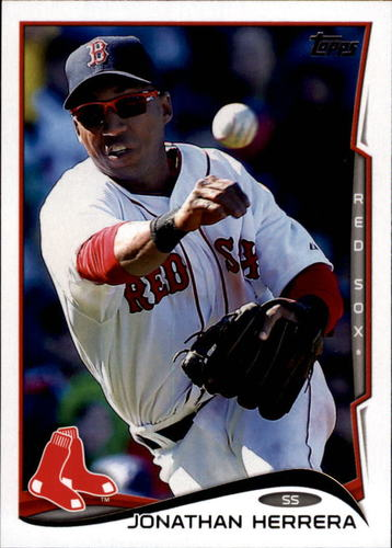 Photo of 2014 Topps Update #US187 Jonathan Herrera