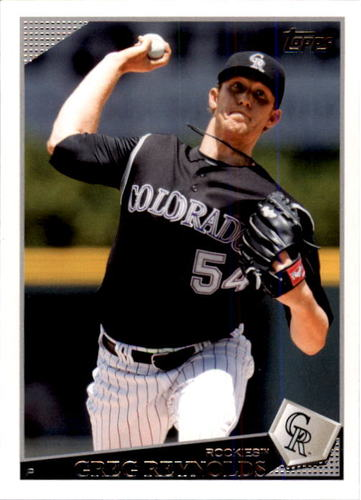 Photo of 2009 Topps #568 Greg Reynolds