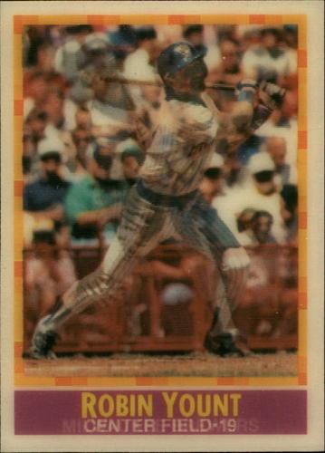 Photo of 1990 Sportflics #18 Robin Yount