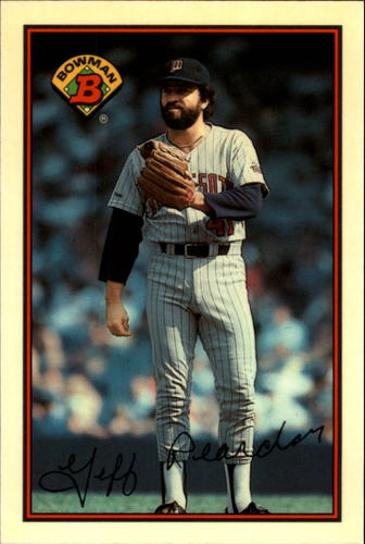 Photo of 1989 Bowman Tiffany #148 Jeff Reardon
