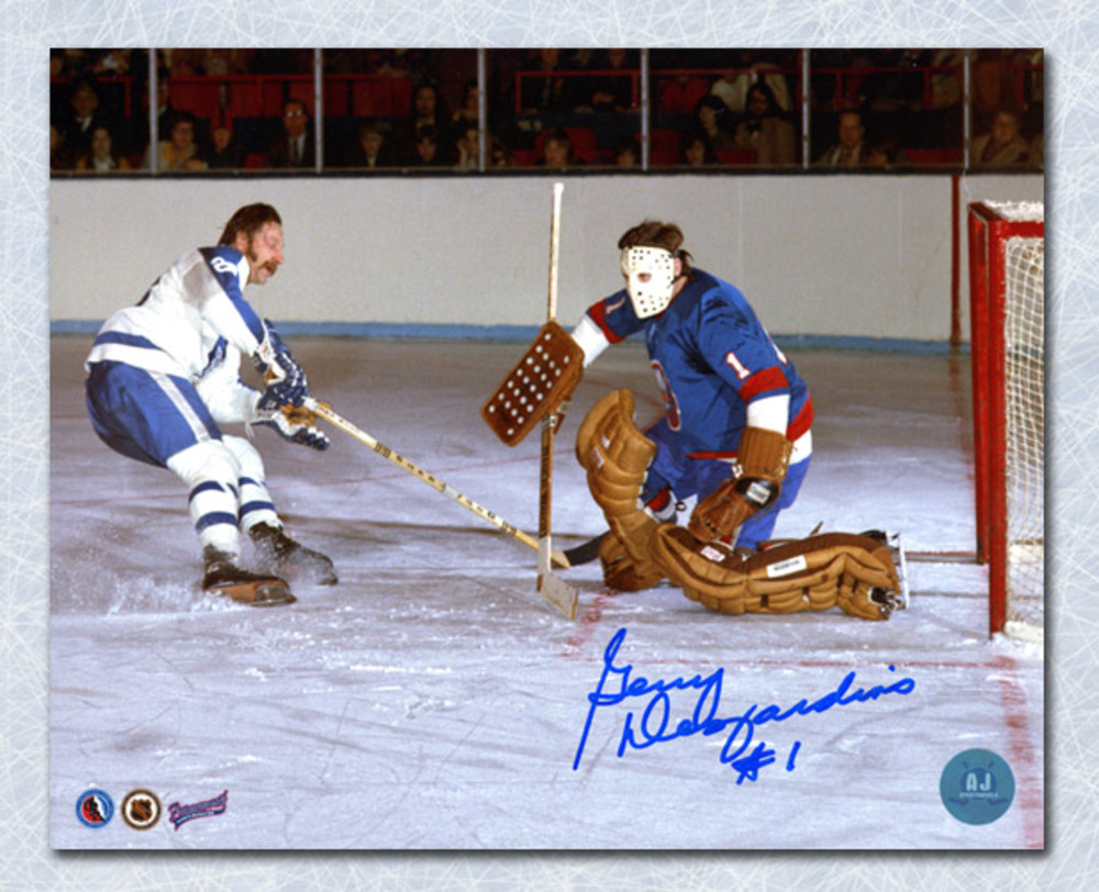 Gerry Desjardins New York Islanders Autographed Goalie 8x10 Photo