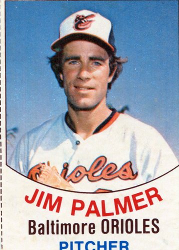 Photo of 1977 Hostess #1 Jim Palmer