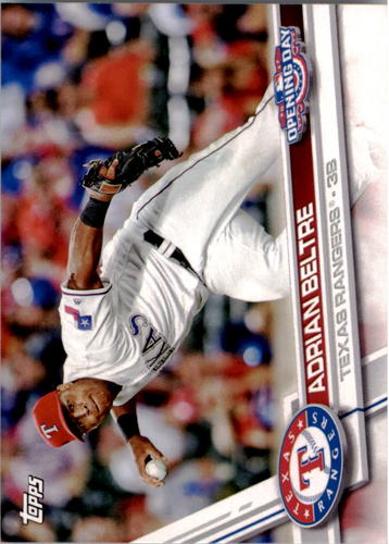 Photo of 2017 Topps Opening Day #102 Adrian Beltre