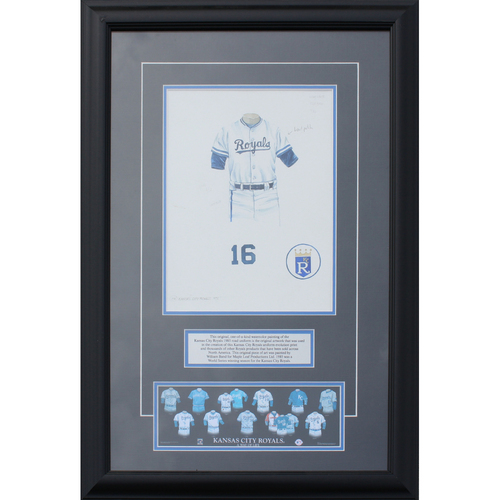 Photo of 1985 Road Jersey History Frame (Non authenticated)