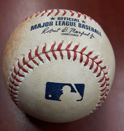 Photo of Authenticated Player Collected Baseball - Josh Donaldson's 17th HR of the Season (August 14, 2017)