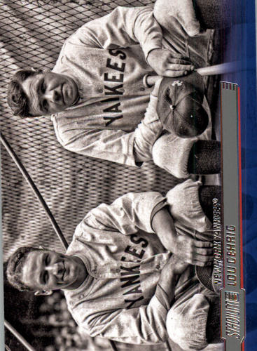 Photo of 2014 Stadium Club #27 Lou Gehrig