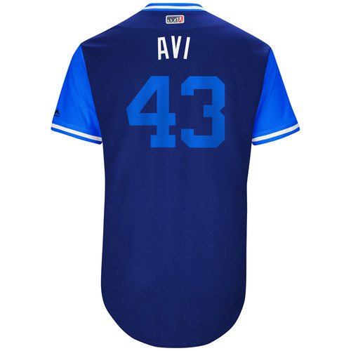 "Photo of Luis ""Avi"" Avilan Los Angeles Dodgers Game-Used Players Weekend Jersey"