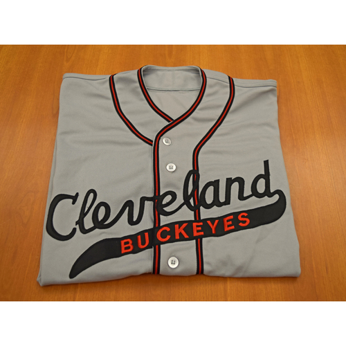 Photo of Grady Sizemore Autographed Cleveland Buckeyes Game Worn Jersey - Not Authenticated by MLB