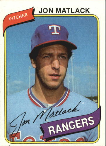 Photo of 1980 Topps #592 Jon Matlack