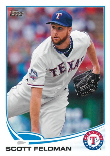 Photo of 2013 Topps #39 Scott Feldman