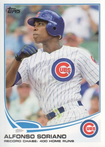Photo of 2013 Topps #567 Alfonso Soriano