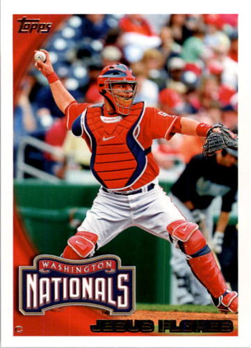 Photo of 2010 Topps #485 Jesus Flores