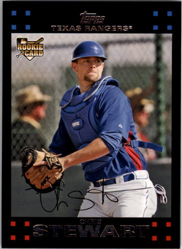 Photo of 2007 Topps #567 Chris Stewart RC